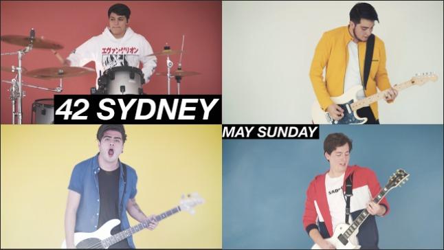 "EXCLUSIVA: May Sunday estrena ""42 Sydney"""