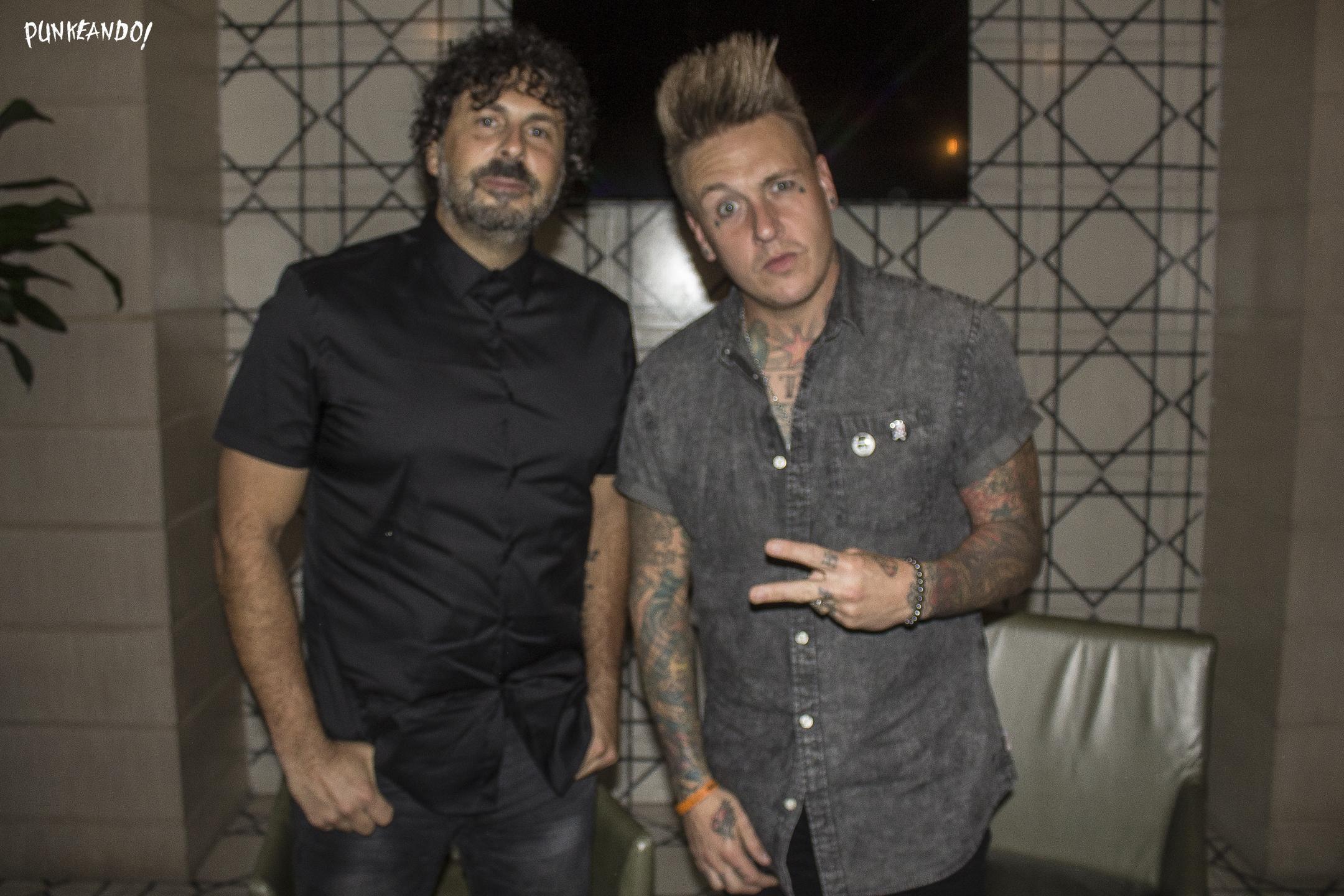 Papa Roach ya están en México listos para sus conciertos