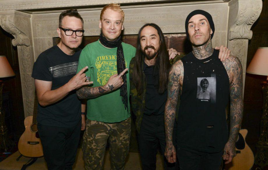 Blink-182 y Jim Adkins colaboraron con Steve Aoki