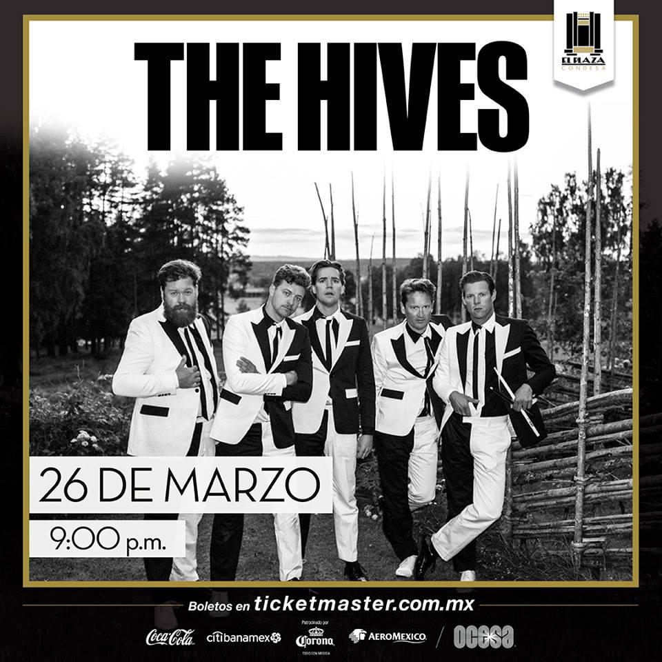 Después de siete años The Hives vuelve a la CDMX