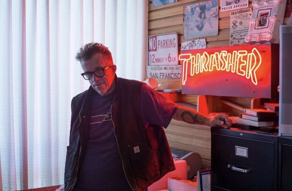 Fallece Jake Phelps, editor de Thrasher Magazine