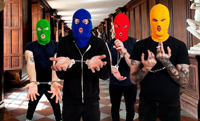 Escucha el nuevo disco de Masked Intruder