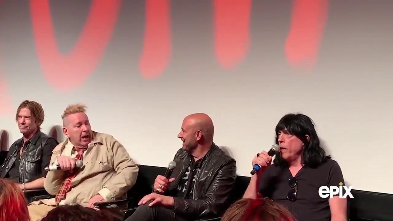 """Johnny Rotten y Marky Ramone pelearon en público durante la presentación del documental """"Punk"""""""