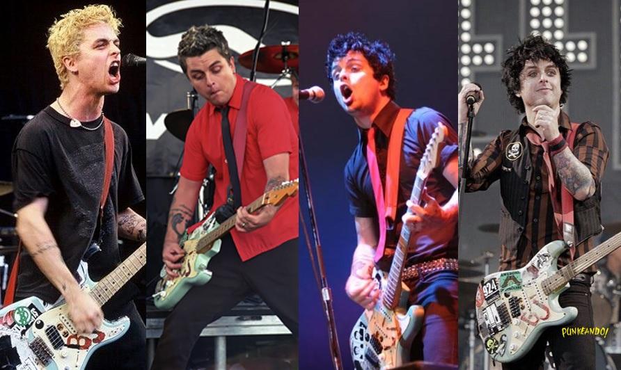 """¿Cómo se ve Green Day tocando """"Basket Case"""" a lo largo de su trayectoria?"""