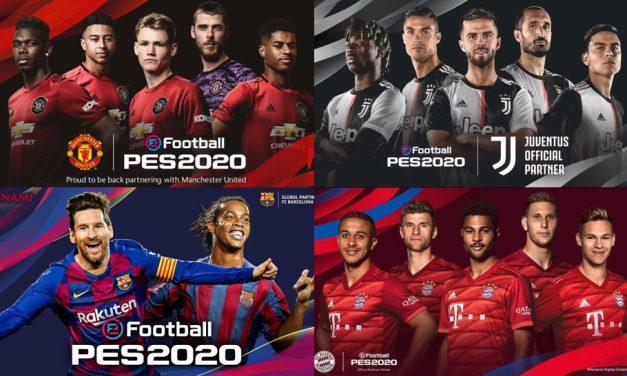 Konami reveló los detalles del eFootball PES 2020