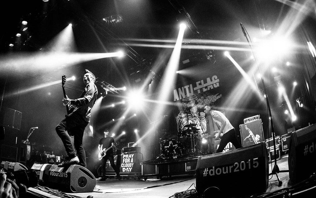 "Anti Flag publica nuevo disco en vivo ""LIVE. VOLUME. TWO"""