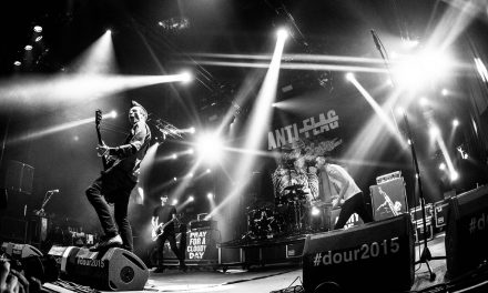 "Anti Flag publica nuevo disco en vivo ""LIVE. VOLUME. TWO"""