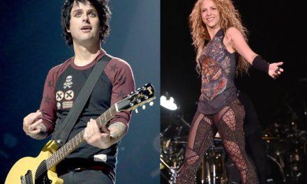 Shakira publica cover a un clásico de Green Day