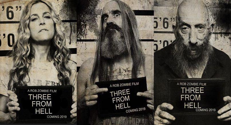 """""""3 From Hell"""", la nueva película de Rob Zombie, se estrenó en México"""