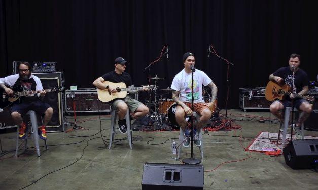 "New Found Glory comparte versión acústica de su canción ""Don't Let Her Pull You Down"""