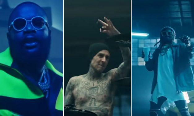 """Travis Barker lanza el vídeo de su sencillo """"Gimme Brain"""" junto a Lil Wayne y Rick Ross"""