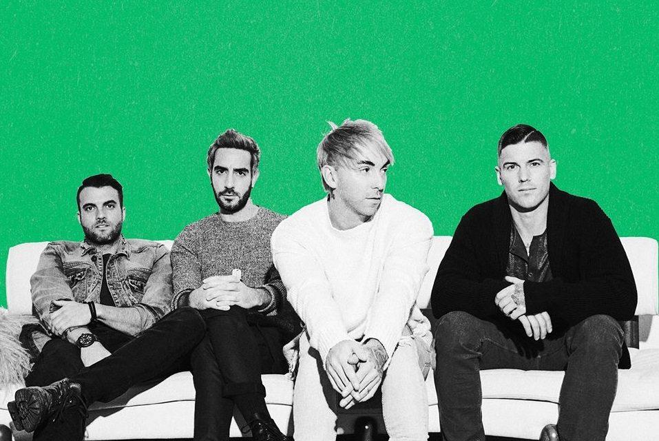 "All Time Low estrena sencillo titulado ""Getaway Green"""