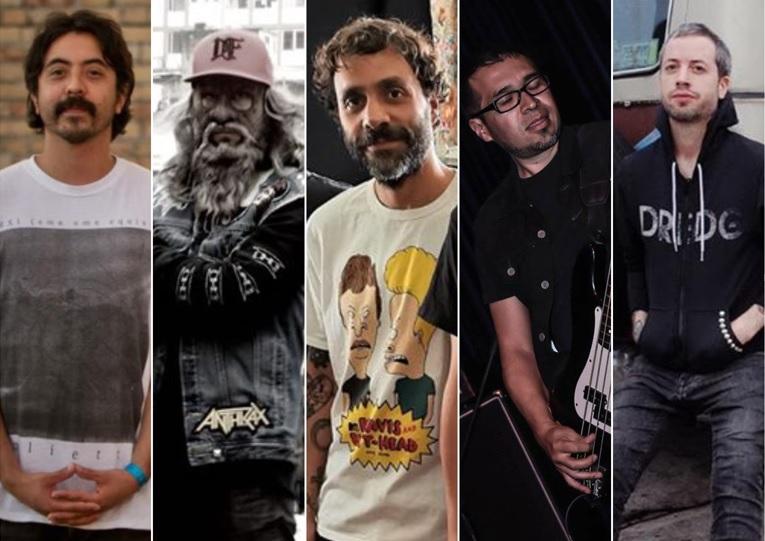 Miembros de Hule Spuma, Big Spin, Los Viejos, Dolores de Huevos!, Finde y Axpi se unen para lanzar una canción de cuarentena