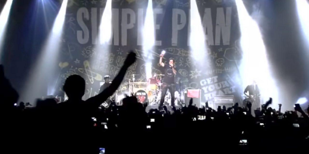 Simple Plan publica concierto en vivo desde la Ciudad de México