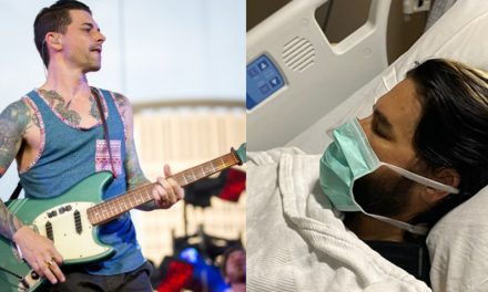 Chris Carrabba es hospitalizado tras sufrir accidente