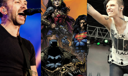 Se anuncia el soudtrack de Dark Nights: Death Metal con Rise Against y Andy Biersack