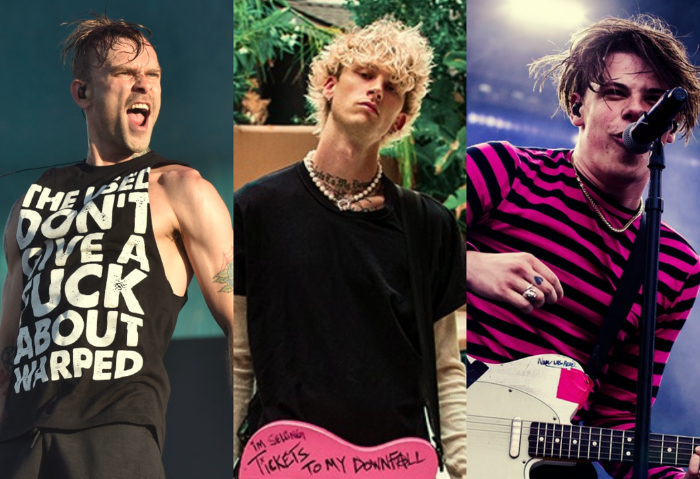 Escucha la colaboración de Machine Gun Kelly junto a YUNGBLUD & Bert McCracken de The Used