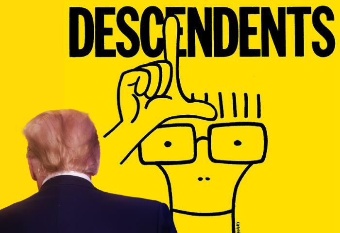 """Descendents le dicen adiós a Donald Trump con su nueva canción """"That's The Breaks"""""""